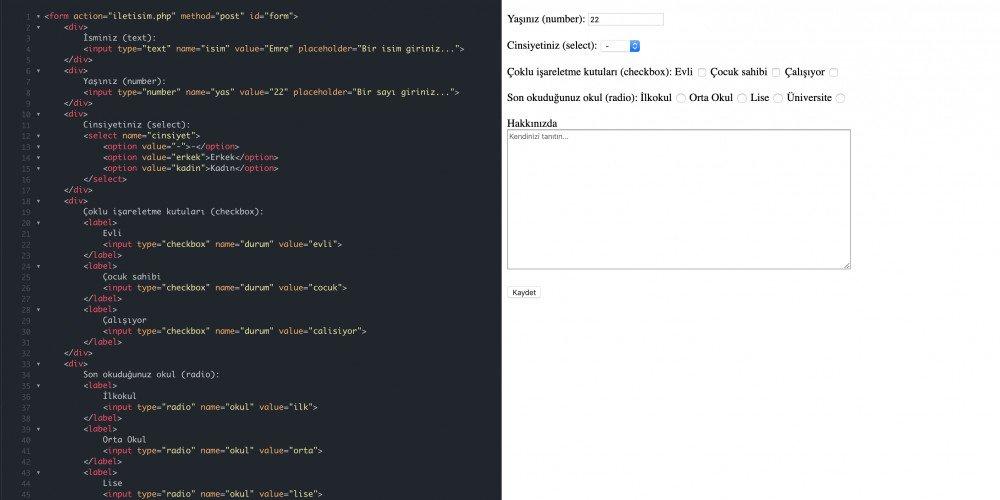 Web Programalama Serisi: HTML Ders 2
